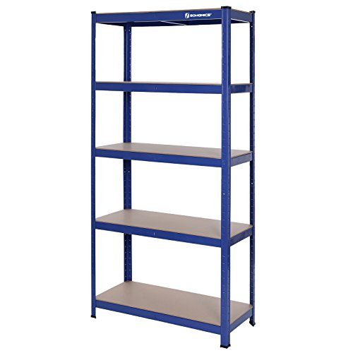 Songmics-Estantera-metlica-para-almacenar-de-pie-5-estantes-875-kg-90-x-40-x-180-cm-GLR40Q