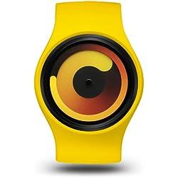 Ziiiro Gravity Unisex Silikon / Edelstahl Watch Banana wechselbare Uhr