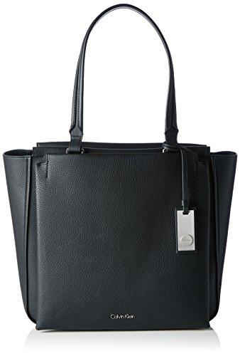Calvin Klein CARRI3 Tote, Sac Femme, Noir (Black), 32x9x43 cm