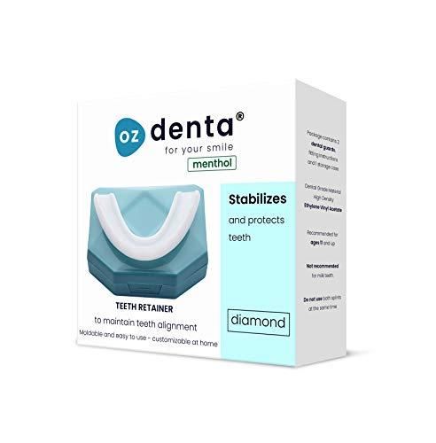 Ozdenta Menthol Diamond Retentionsschiene Aufbissschiene Zahnschutz
