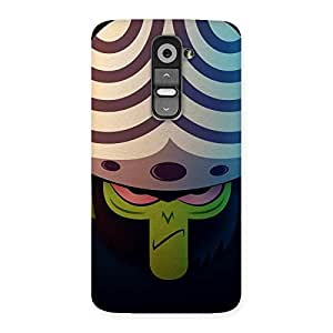 Ajeeb Bandar Back Case Cover for LG G2