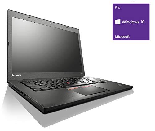 Lenovo ThinkPad T450s Notebook / Laptop | 14 Zoll Display | Intel Core i5-5300U @ 2,3 GHz | 12GB DDR3 RAM | 240GB SSD | Windows 10 Pro vorinstalliert (Zertifiziert und Generalüberholt)