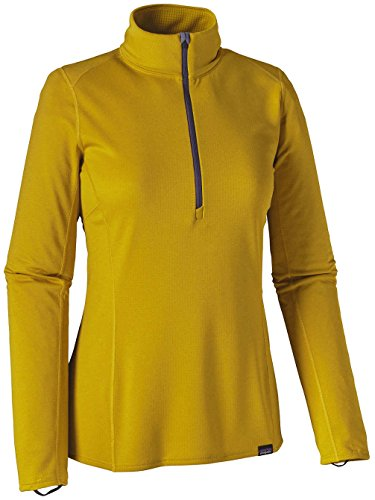 Patagonia Cap 3 Midweight Langarmshirt, Damen sulphur yellow/yosemite y