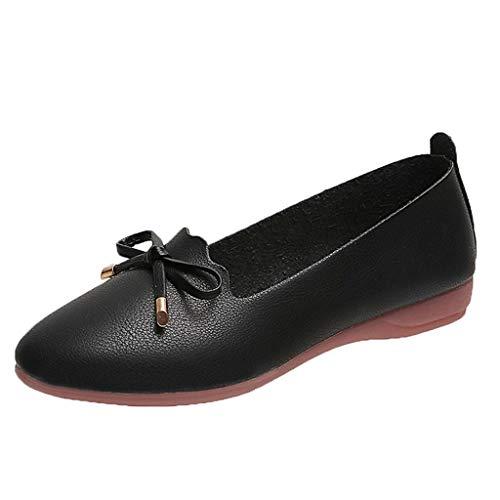 Coconute Prinzessin Schuhe Flache Leinwand Leder Zeigte Pumpen Bow Sandalen Komfort Schuhe für Hochzeit Tanzparty - Schuh-leinwand-pumpe