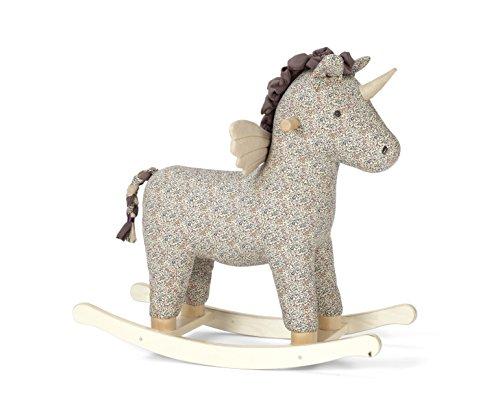 Mamas & Papas Toy Rocking Unicorn, Liberty Print, Small Rocking Horse
