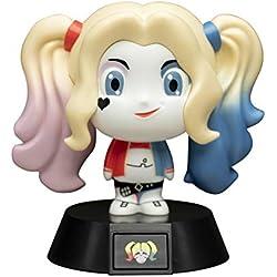 Paladone Harley Quinn Icono 3D LED coleccionable Escuadrón de Suicidio Ideal Noche Niños Dormitorios, Oficina y Hogar Pop Cultura Iluminación Merchandise [Clase energética