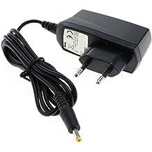 subtel® Cargador - 1,20m (1A) para Sony PSP-1000 / PSP-1004 / PSP-2000 / PSP-2004 / PSP-3000 / PSP-3004 (5V / 4.0mm x 1.7mm ) Cable de carga
