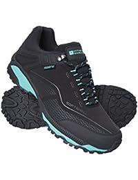 Mountain Warehouse Zapatillas Impermeables Collie para Mujer - Calzado liviano para Damas, Zapatos Transpirables para Caminar, Zapatos Suaves para Caminar - para Caminar