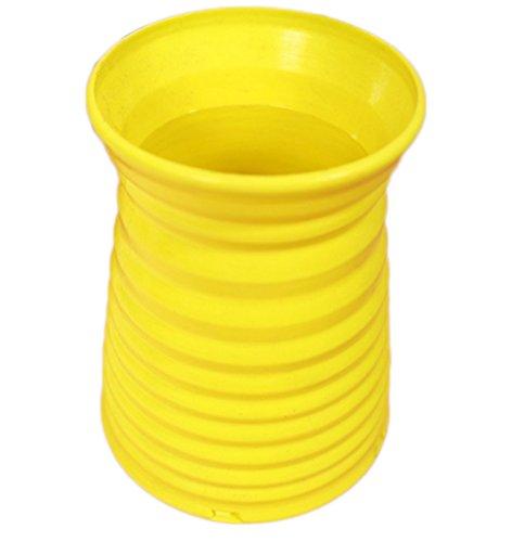 jarrón decoración para el hogar. color Amarillo