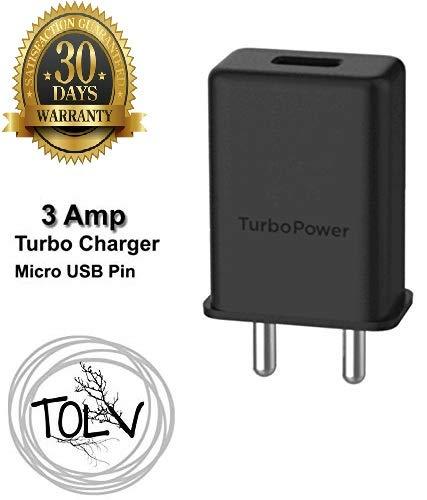 TOLV Micro USB Turbo Power 3.0 Ampere 25 W Mobile Adaptor…