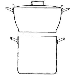 Matfer COUSCOUSSIER Aluminium - 17,5L-MT520317