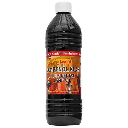 favorit 2020 Lampenöl klar, 1 Liter Flasche