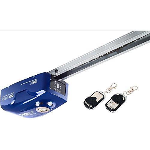 MSW Garagentorantrieb Torantrieb GD-800M (für Sektional- oder Schwingtore bis 2,4m, Abschaltautomatik, 800N, 16cm/s, inkl. 2 Fernbedienungen) Blau