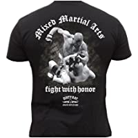 Dirty Ray MMA Fighter maglietta T-Shirt uomo DT4