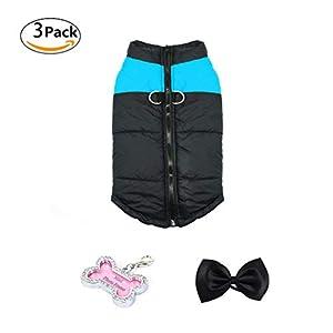 Manteau d'hiver Rembourré Veste Sweat Sans Manche Vêtement en Coton de Haute Qualité Hiver-Coat pour Chien Chiot S/M/L/XL