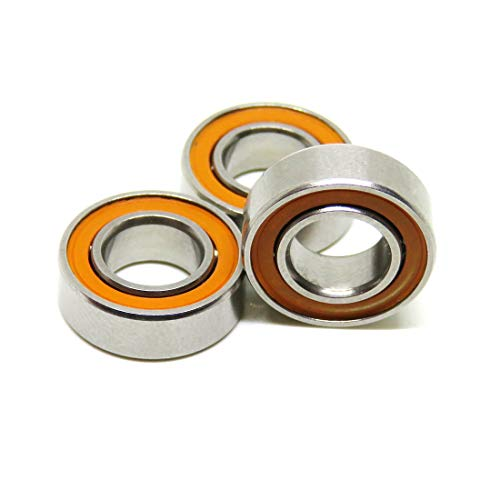 zoty ABEC-7-smr126C-2os orange fadensiegelung Kugellager MR126–2RS/C Hybrid Keramik Lager für Angelrollen 6x 12x 4mm Pack von 5x