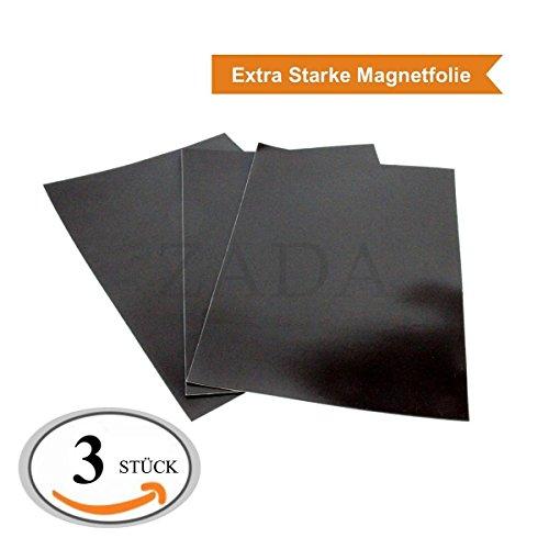 4 St/ück Xcut Magnetplatte DIN A5 selbstklebend