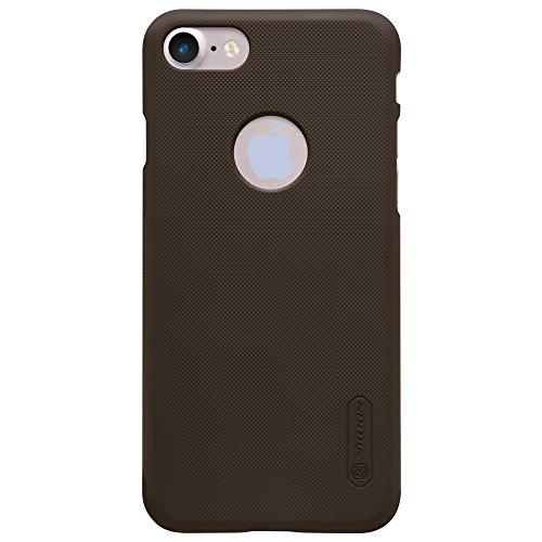 [Bamboo] Nillkin Gommage Super bouclier Haute qualité Ultra-mince Étui Housse Coque en Smart Cover Pour Apple iphone 6 (4.7 inch) ,Rose Brun
