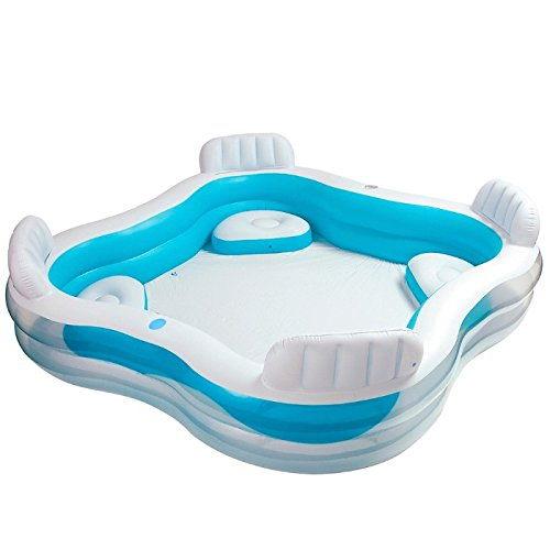 Intex 56475 piscina, blu, 45.7x13x40.6 cm