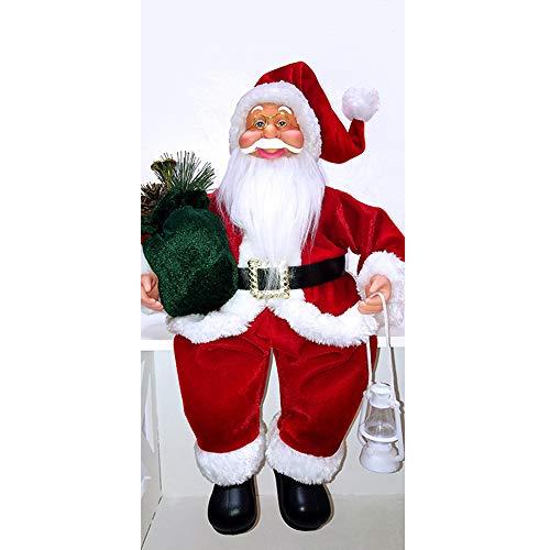 Fulltime E-Gadget Aussendekoration Innendekoration weihnachtlich Advent Adventszeit, EIN Weihnachtsspielzeug für Santa Claus, (Rot+Weiß)