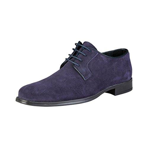 PIERRE CARDIN ALBERIC Derby Chaussures De Ville À Lacets Homme Bleu
