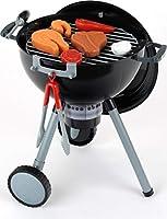 Theo Klein 9401 - Weber kogelbarbecue OT Premium met licht en geluid, speelgoed Versie 1. 32x20x59cm zwart