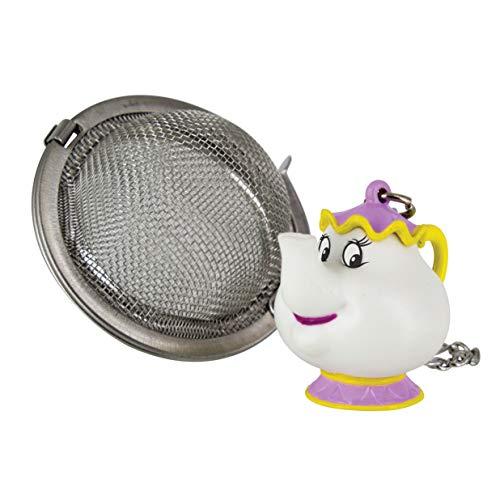 Paladone mrs. potts - infusore per tè, in acciaio inox, multicolore, 5 x 5 x 5 cm