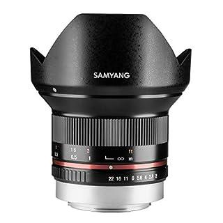 Samyang 12/2,0 Objektiv APS-C Fuji X manueller Fokus Fotoobjektiv, Weitwinkelobjektiv schwarz (B00MSVTLBS) | Amazon Products