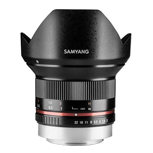 Samyang Objectif pour Fuji X 12 mm F2 NCS CS Noir
