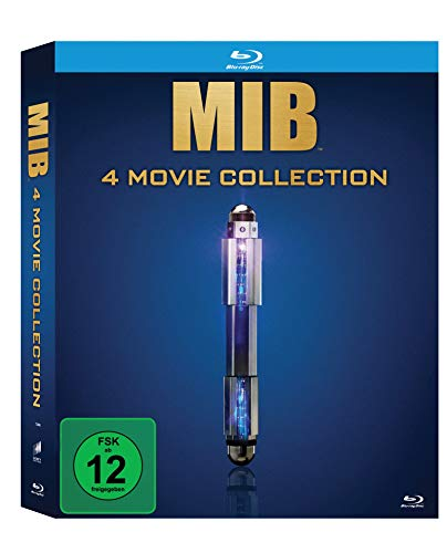 Men in Black 1-4 (Limitierte Blu-ray Box)