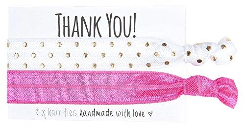 Team Henne 1.813.129.151.367,2cm Thank You Haar Double Krawatte (One Size, 6Stück)