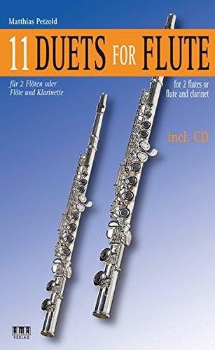 11 Duets For Flute: für 2 Flöten oder Flöte und Klarinette
