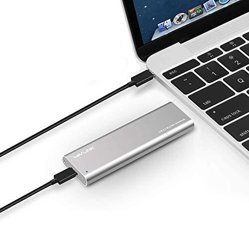 wavlink USB C m.2 NGFF Festplatte Gehäuse SATA USB C SSD Caddy Fall- Typ C