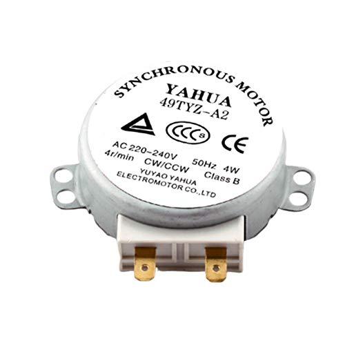 remote.S Motor De Metal 49TYZ-A2 AC 220-240V CW/CCW 4W 4 RPM para...