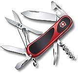 Victorinox Erwachsene Taschenmesser EvoGrip 14 Rot-Schwarz 85mm