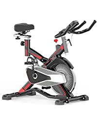 GZMUK - Health & Personal Care Silencioso Cubierta de Bicicleta de Ejercicios Inicio Spinning el Equipo de Ciclo con Pantalla LCD y Soporte para el hogar Entrenamiento y Dar Forma eficaz
