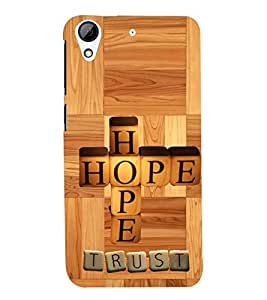 printtech Hope Back Case Cover for HTC Desire 728::HTC Desire 728G