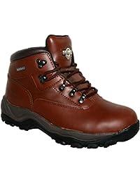 Para hombre Inuvik totalmente impermeable con cordones caminar/senderismo trekking botas