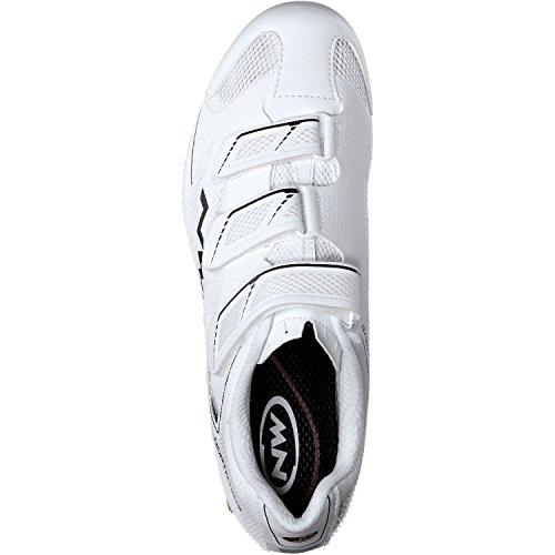 Northwave Sonic 2 Rennrad Fahrrad Schuhe schwarz 2016 White
