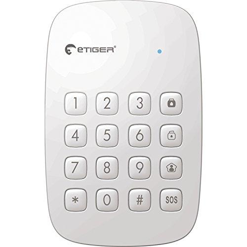 eTiger ES-K1A - Teclado alarma, color blanco