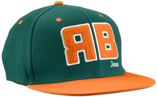Redbridge - Casquette de Baseball Homme - R31750 - Vert (Green-Orange) - FR : Taille unique (Taille fabricant : One size)