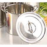 Buckingham Stainless Steel Stock Pot 23 cm / 8 Ltr. RRP £20
