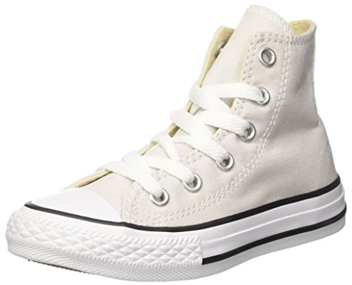 Converse Mädchen Weiß High-tops (Converse Unisex-Kinder CTAS Hi Canvas Seasonal Hohe Sneaker, Weiß, 27 EU)