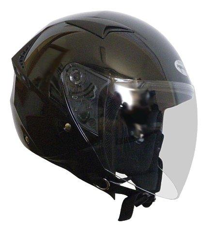 Jethelm Helm Motorradhelm RALLOX G240 schwarz/glanz mit Langvisier (S, M, L, XL, XXL) Größe L