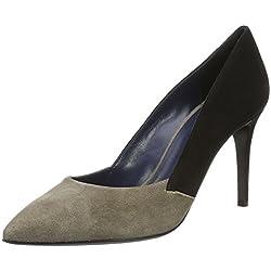 Pollini Damen Shoes Pumps Beige (Beige + Black 20A), 39 EU