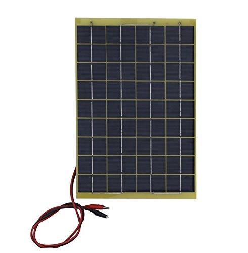 ECO-WORTHY 10W 20W 30W 50W Solar Panel Kit für 12V Akku Ladekabel (Solar-panel-kit Camper Für)