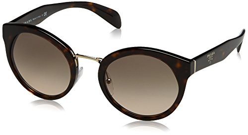Prada Damen 0PR05TS 2AU3D0 53 Sonnenbrille, Braun (Havana/Brown),