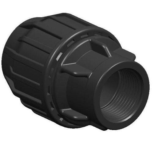 Mdpe Eau Raccord de tuyau adaptateur femelle 25 mm x 1/5,1 cm (pouce)