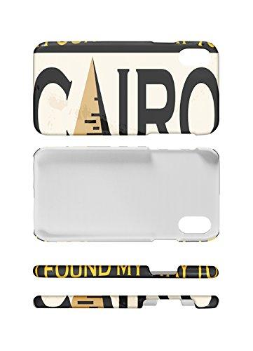 LEotiE SINCE 2004 Handy Schale passend für iPhone 8 Stadt Kairo Ã?gypten