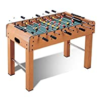 Marshal Fitness standing Football Soccer Table Family Game Wooden W Legs-MF-SC-4064